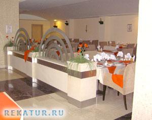 Ресторан отеля Arycanda De Luxe Hotel