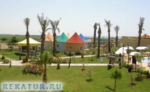 Пляж отеля Белек Бич