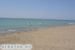 Вход в море у отеля Belek Beach Resort