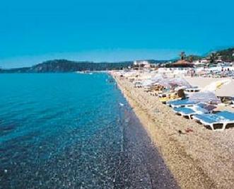 Пляж отеля Club Marco Polo