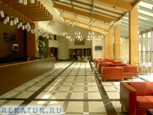Рецепшен отеля Mirada Del Mar