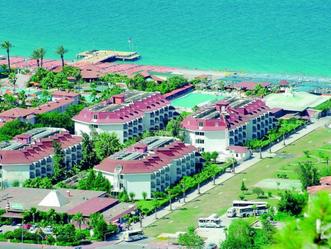 Территория отеля Сайлорс Бич