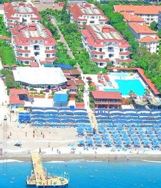 Пляж отеля Сайлорс Бич