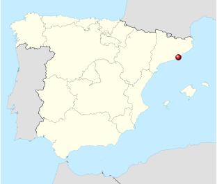 Карта Барсилоны