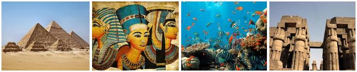 Основные достопримечательные места Египта