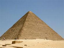 Пирамида Хеопса в долине Гизы