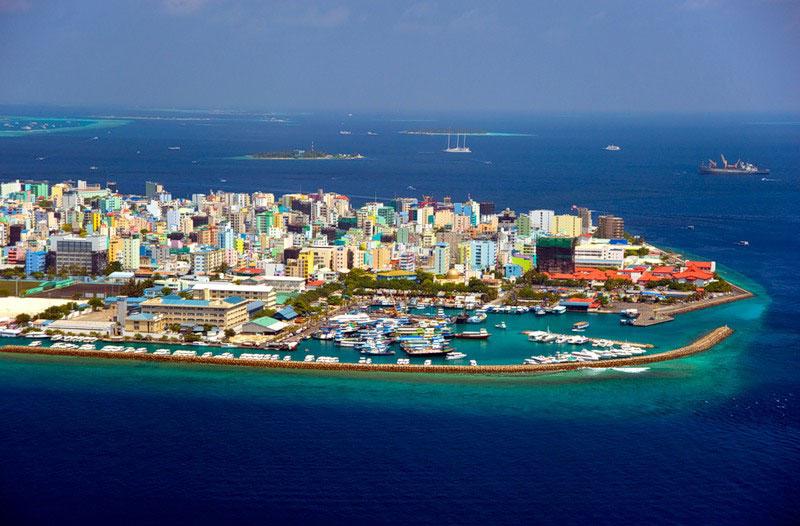 Мальдивские острова, город Мале