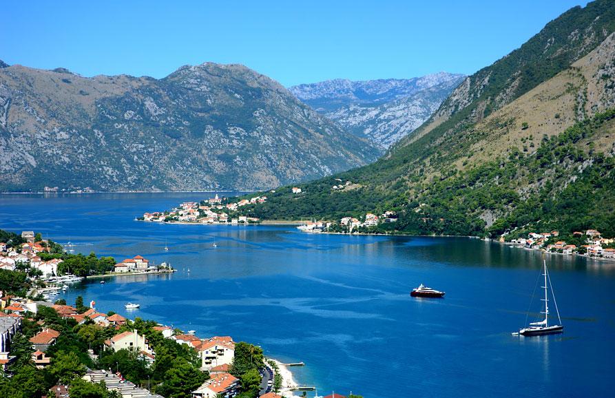 Черногория, отдых в Бока-Которской бухте