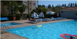 2-сп. квартира в красивом комплексе с общим бассейном, детской площадкой, в районе кафе Паскуччи