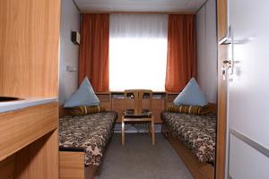 2-местная (нижние места) каюта 1 класса