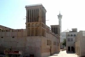 Средневековый дворец шейха Саеда в Дубаях.