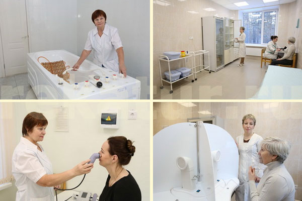 Лечение в санатории Селен