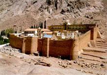 Монастырь в Египте