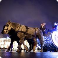 Экскурсия в Санкт - Петербурге, Волшебное Рождество