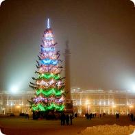 Елка в Санкт - Петербурге