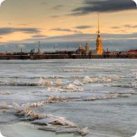Однажды зимой в Санкт-Петербурге