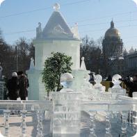Экскурсия в Санкт - Петербурге - Новогодние сюжеты