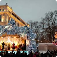 Экскурсия в Санкт - Петербурге - Новогодний парадиз