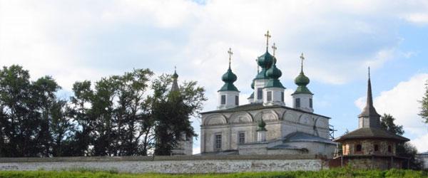 Троице-Гледенский монастырь в Великом Устюге
