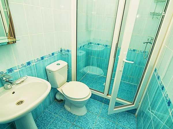 Ванная комната в пансионате
