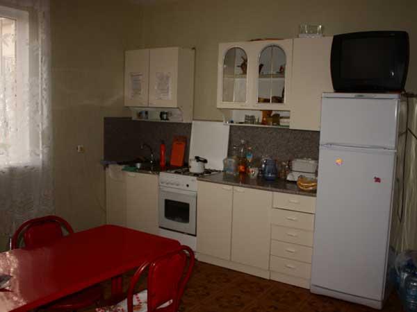 Кухня в гостинице