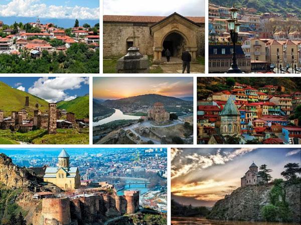 Панорама Грузии